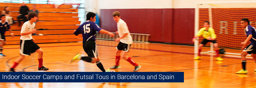 indoor soccer camps futsal tours 2016 summer low cost barcelona spain