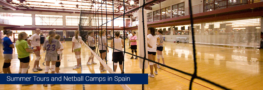netball summer camps 2016 tours cheap low cost spain barcelona