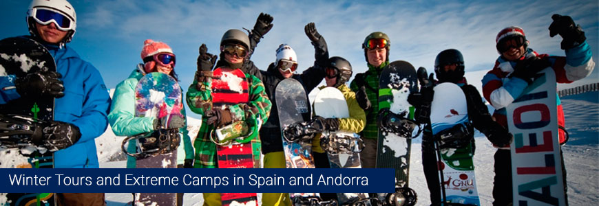 extreme camps and tours in andorra and spain