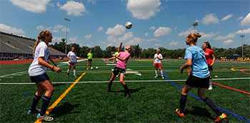 Summer camps soccer girls women europe 2016