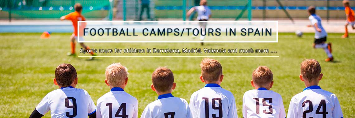 Soccer camps in barcelona, football camps for kid of all ages in the camp nou, soccer tours