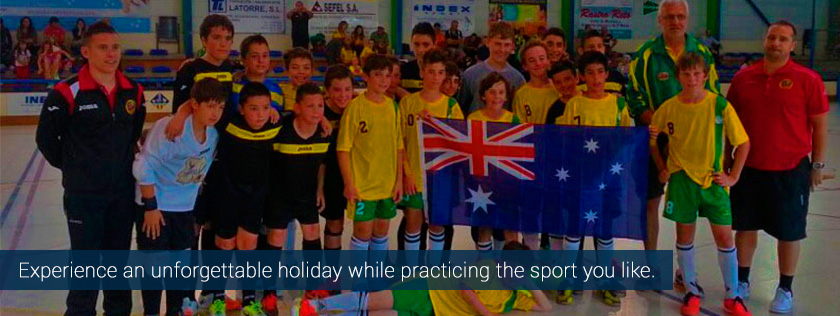 futsal indoor soccer summer camps spain low cost cheap