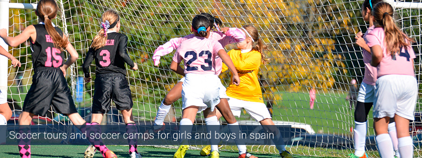 summer camps in spain tours soccer football barcelona cheap low cost
