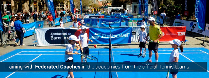 tennis camps tours summer europe low cost cheap barcelona