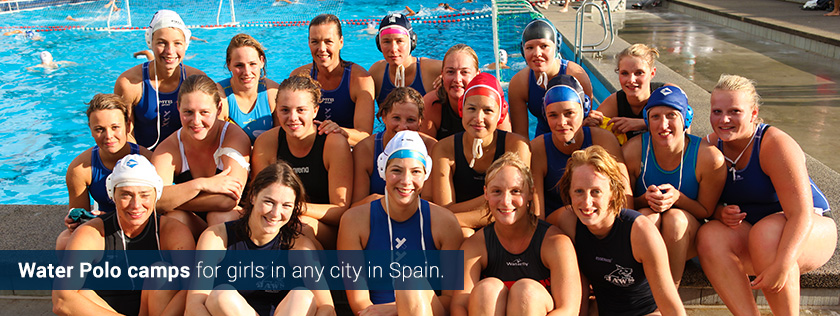 swimming water polo girls woman women spain