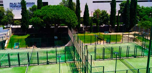 padel camps summer tours barcelona